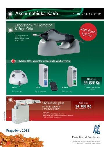 Akční nabídka KaVo 1. 10. - 31. 12. 2012 - KAVO.cz