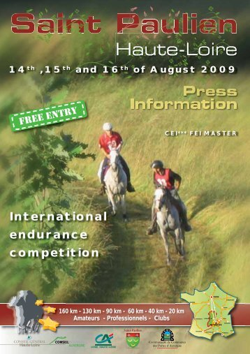 International endurance competition - Endurance Canada