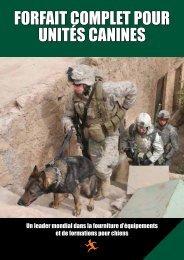 ForFait complet poUr Unités canines - TAR Ideal Concepts Ltd.