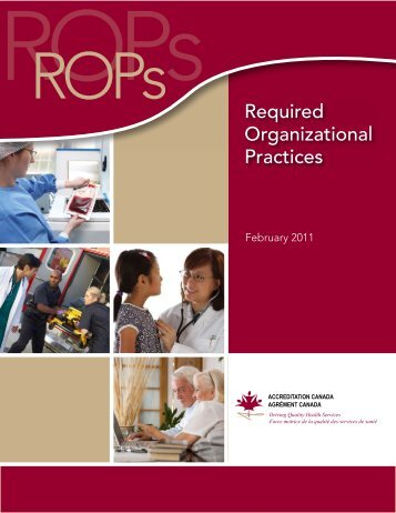Required Organizational Practices - Canadian Mental Health ...