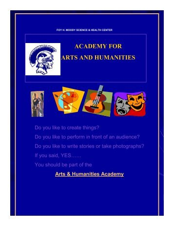 academy for arts and humanities - Moody High School - Corpus ...