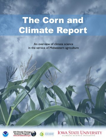 The Corn and Climate Report - Great Plains Institute