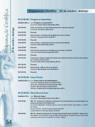 Programação Científica 54 - 66 Congresso Brasileiro de Cardiologia