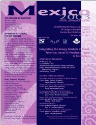 Mexico Cover - United States Association of Energy Economics