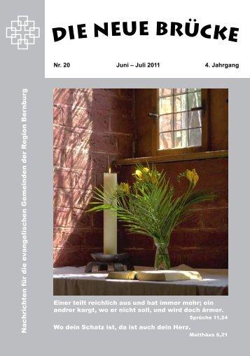 Juni/ Juli 2011 - Ev. Schlosskirchengemeinde Bernburg