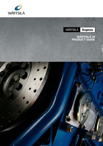 Wärtsilä 26 Product Guide