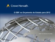 O EBF no Orçamento do Estado para 2012 - Crowe Horwath ...