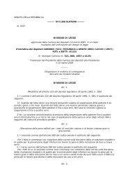 La nuova legge prevede sanzioni più severe e una ... - UILA Potenza