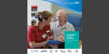 Annual report 2010/11 - East Cheshire NHS Trust