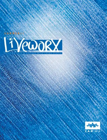 Download Liveworx bulletin Summer 2009 - Community Arts ...