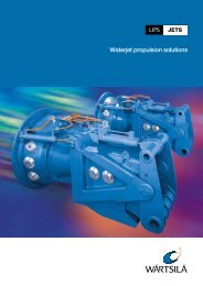 Waterjet propulsion solutions - Laboratory of Marine Engineering
