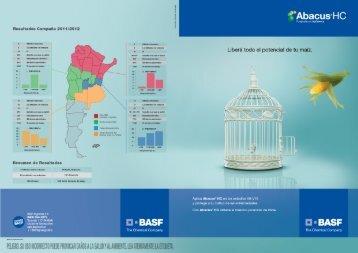 Folleto comercial Abacus - Basf