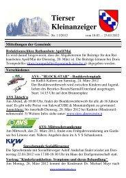 Kleinanzeiger 11/2012 (545 KB) - .PDF