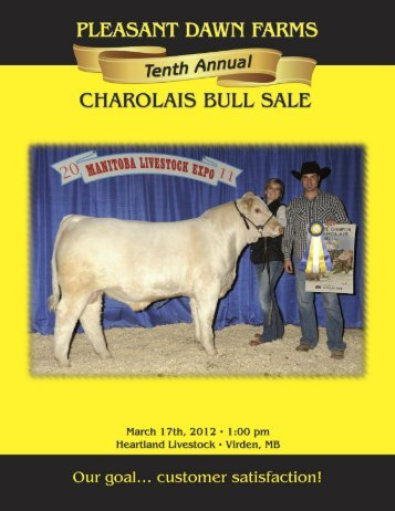 Click here to download pdf file (3.7 mb) - Charolais Banner