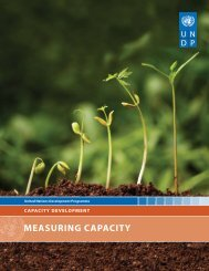 Measuring Capacity - July 2010 (pdf) - Impact Alliance