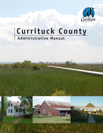UDO Administrative Manual - Currituck County Government