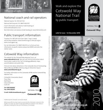 Cotswold Way National Trail - Cotswolds Area of Outstanding ...