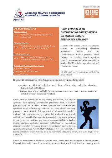 07 - Outsourcing - výhody.xps - Asociace malých a středních ...