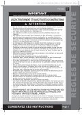 conservez ces instructions - Nicotoy - Page 3