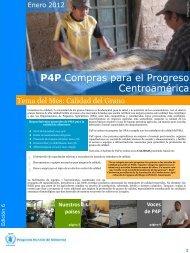 P4P Compras para el Progreso Centroamérica