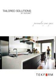 Tailored Solutions brochure - Tekform