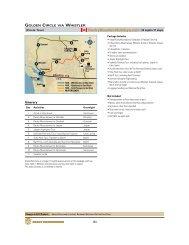 Golden Circle via Whistler - Rocky Mountain Holidays