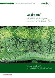"""""""Leaky gut"""" - biovis´ Diagnostik MVZ GmbH"""