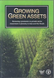 Growing green assets - APAFRI-Asia Pacific Association of Forestry ...