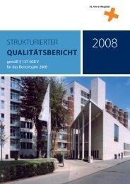 Qualitätsbericht St. Anna Hospital 2008 - Marien-Hospital Witten