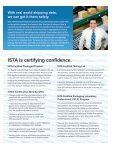 ISTA is certifying confidence. - International Safe Transit Association - Page 3