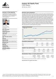 Invesco UK Equity Fund C-Distr. Shares - Invesco Perpetual