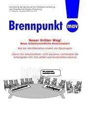 Neuer Dritter Weg! - Diakonie im Oldenburger Land