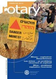 Minen – explosiver Dauerbrenner Les mines – un ... - Rotary Schweiz