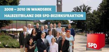 Halbzeitbilanz 2008-2010 - SPD-Fraktion Bezirksversammlung ...