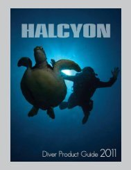 2011 Diver Product Guide - Low resolution (smaller file - Halcyon