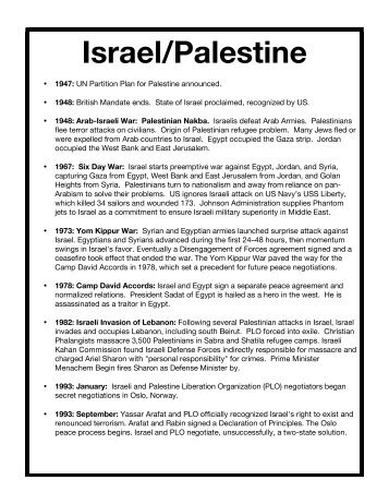 Israel-Palestine Final - LACE