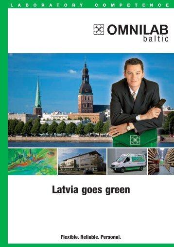 Latvia goes green