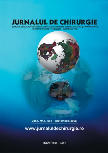 Full text PDF (4.9MB) - Jurnalul de Chirurgie