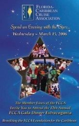 2006 Gala Flyer (532kb) - The Florida-Caribbean Cruise Association