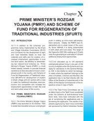 PRIME MINISTER'S ROZGAR YOJANA (PMRY) AND SCHEME OF ...