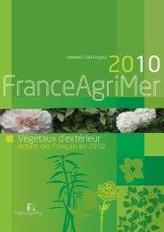 Végétaux d'extérieur - Achats des Français en 2010 - FranceAgriMer