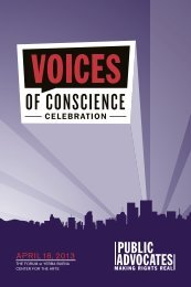 APRIL 18, 2013 - Public Advocates Inc.