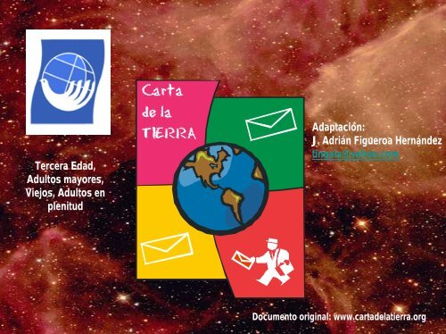 CARTA DE LA TIERRA - Earth Charter Initiative