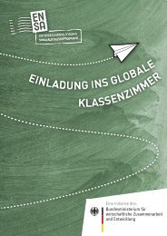 einl adung ins globale klassenz im mer - ENSA-Programm