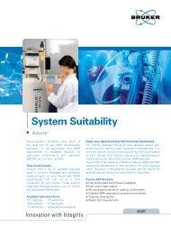 Assure - System Suitability Test (SST) - Bruker