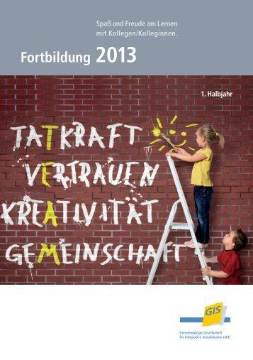 Fortbildungsprogramm 2013 - bei der gGIS mbH