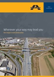 Wherever your way may lead you - ALPINE Bau GmbH