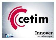 Conférence JEC 2010 - Les composites thermoplastiques - Cetim