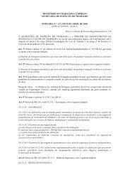 Portaria Nº 157, de 10/04/2006 - Ministério do Trabalho e Emprego