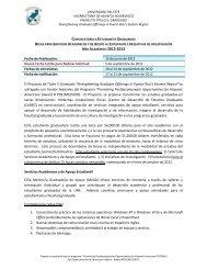 Fecha de Publicación - Sistema Universitario Ana G. Mendez
